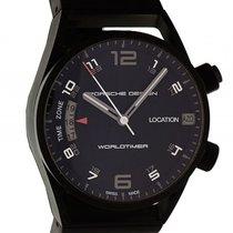 Porsche Design P'6750 Worldtimer Automatik Titan Black...