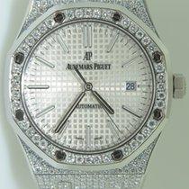 Audemars Piguet Royal Oak 41mm,Steel,Iced Out diamonds,Afterma...