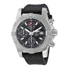 Breitling Avenger II Chronograph Black Dial Men's Watch