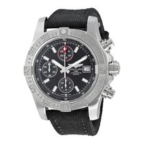 Breitling Avenger II Chronograph Black Dial Men's Watch