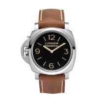 Panerai Luminor 1950 Left-Handed 3 Days Acciaio manual winding...