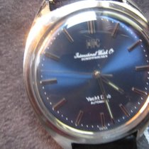 IWC Yacht Club 1811 blue sunray dial 1967