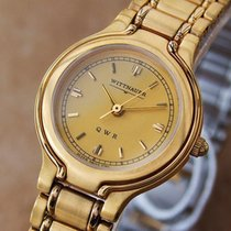 Wittnauer By Longines Qwr Ladies Swiss 18k Gold-plated Dress...