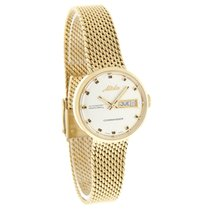 Mido Commander Ladies Gold Tone Swiss Automatic Watch M7169.3....