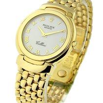 Rolex Used 6622/8 Cellini MID SIZE Quartz 6622/8 - Yellow Gold...
