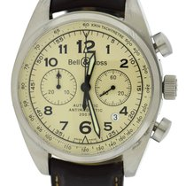 Bell & Ross Vintage 126 XL Chronograph Stainless Steel