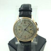 Breitling Premier Chronograph Vintage 18k Gold Ref 760