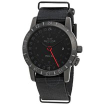 Glycine Airman Base 22 Black Dial Automatic Men's GMT Watch