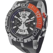 Roger Dubuis RDDBSE0254 Easy Diver Chronograph - Steel-Black...