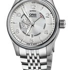 Oris Big Crown Small Second, Pointer Day, Silver, Steel