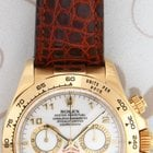 Rolex 116518 Daytona Cosmograph, White Dial Yellow Gold, F Series