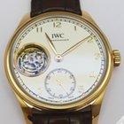 IWC Portugieser Hand Wound Tourbillon Rose Gold - IW546...