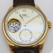 IWC Portugieser Hand Wound Tourbillon Rose Gold - IW546302