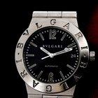 Bulgari Diagono Automatic Black Dial SS / SS