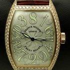 Franck Muller Crazy Hours, 18 kt pink gold, diamonds set, full...
