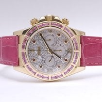 Rolex Daytona Zenith Diamonds Rubies & Pink Sapphires