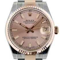 Rolex Datejust 31mm Steel & Everose Gold Pink Index 2016