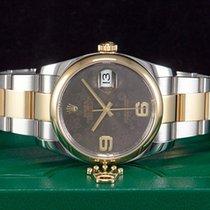 Rolex Datejust Lady Flower Brown 36mm LC100 Ref.116203  NEUWERTIG