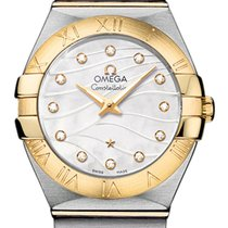 Omega Constellation Brushed 27mm 123.20.27.60.55.005