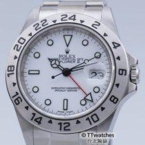 勞力士 (Rolex) Explorer II 16570 V Series Engraved Rehaut