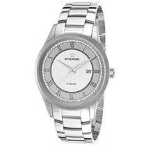 Eterna ARTENA  watch 40 mm St.Steel Sapphire Crystal Swiss Made.