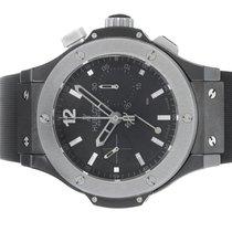 Hublot Ice Bang Black Dial Chronograph Ceramic / Titanium