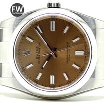 Rolex Oyster Perpetual Yellow Dial New