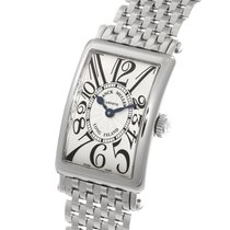 Franck Muller Long Island Silver Dial 23MM Quartz Ladies Watch