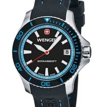 Wenger Womens' Sea Force Dive Watch - Black Dial - 200m -...