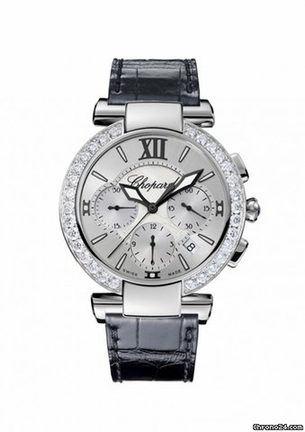 Chopard Imperiale Diamond Bezel Chronograph Automatic Ladies Watch 388549-3003