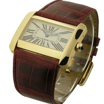 Cartier W6300556 Tank Divan - Large Size - Quartz - Yellow...