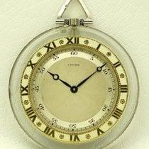 Cartier Pocket Watch, Rock Crystal, from twenties
