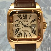 Cartier Santos 100 MM Rose gold