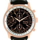 Breitling Montbrillant Olympus Rose Gold Limited Edition Watch...
