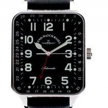 Zeno-Watch Basel Pointer Date Stahl Automatik 45x40mm