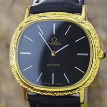 Omega Deville Rare Carved Case Manual Men's Watch Swiss...