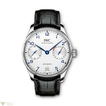 IWC Portuguese Automatic Stainless Steel Silver/blue Men's...