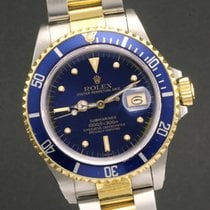 勞力士 (Rolex) submariner ref 16803 blue jeans nipple dial...