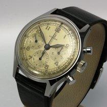 Omega sehr selten: Chronograph 27 CHRO von 1947, Top Zustand