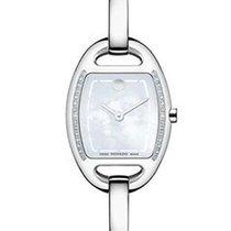 Movado Miri Diamond Ladies Dress Watch - White MOP Dial -...