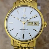 Omega Seamaster Cal 1020 Swiss Made Automatic Gold Plated...