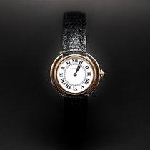 Cartier Ellipse Or gris et Jaune 18k Mécanique Vers 1980