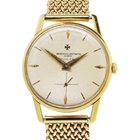 Vacheron Constantin 18k  Gold Turler Mesh Watch