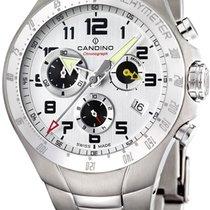 Candino Sport CDC4430/1 Sportliche Herrenuhr Titangehäuse