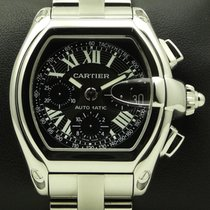 Cartier Roadster Chronograph, stainless steel