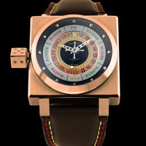 Azimuth Sp-1 King Casino watch 45x45mm Gold