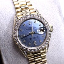 Rolex Ladies President Crown Collection 18K Yellow Gold