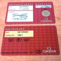 Omega kit warranty card speed professional Moonwatch ref....