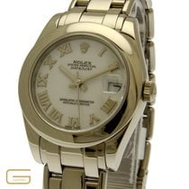 Rolex Lady DateJust Pearlmaster 18K.Weissgold