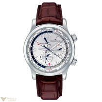 Jaeger-LeCoultre Master World Geographic Stainless Steel...